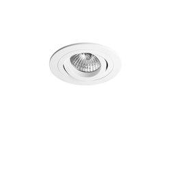 Taro Round Adjustable Fire-Rated | Matt White | Recessed ceiling lights | Astro Lighting
