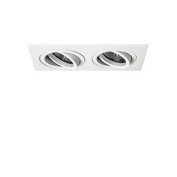 Taro Twin Fire-Rated | Matt White | Recessed ceiling lights | Astro Lighting