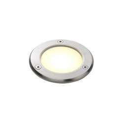 Terra 90 LED | Brushed Stainless Steel | Outdoor recessed floor lights | Astro Lighting
