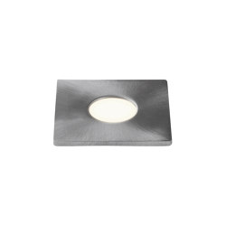Terra Square 28 LED | Brushed Stainless Steel | Outdoor recessed floor lights | Astro Lighting