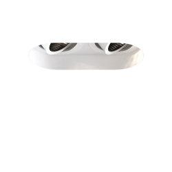 Trimless Round Twin Adjustable | Matt White | Recessed ceiling lights | Astro Lighting