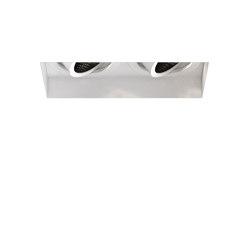 Trimless Square Twin Adjustable | Matt White | Lampade soffitto incasso | Astro Lighting