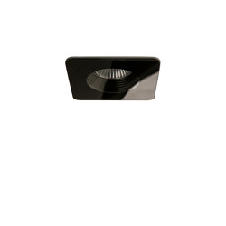Vetro Square Fire-Rated | Black | Recessed ceiling lights | Astro Lighting