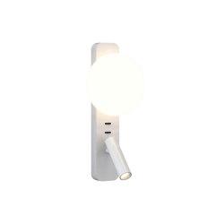 Zeppo Reader | Matt White | Wall lights | Astro Lighting