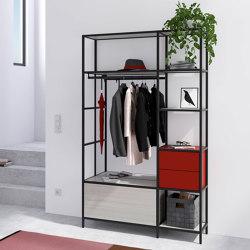 Creo wardrobe | Shelving | raumplus