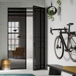 Swing Door Slim Line double-leaf | Portes intérieures | raumplus