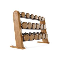 NOHrD DumbBells Cherry | Fitness tools | WaterRower