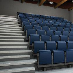 Telescopic Tribune | Auditorium seating | Lamm
