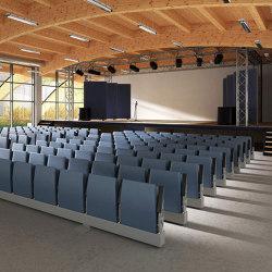Sliding seating system | Auditorium seating | Lamm