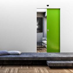 ABSOLUTE EVO Motorised Deslizante a ras de pared | Puertas de interior | Ermetika