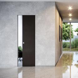 ABSOLUTE EVOKIT Deslizante a ras de pared en kit | Puertas de interior | Ermetika