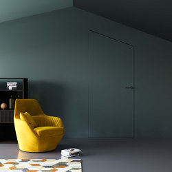 ABSOLUTE SWING Frameless swing door | Internal doors | Ermetika