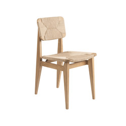 C-Chair Dining Chair - Paper Cord (Oak Oiled) | Chairs | GUBI