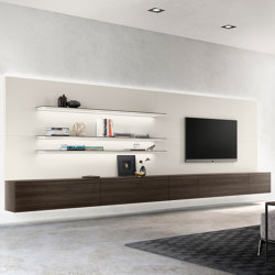 ALEA panel wall | Wall storage systems | Kettnaker