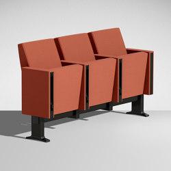 C100 a schienale basso | Auditorium seating | Lamm