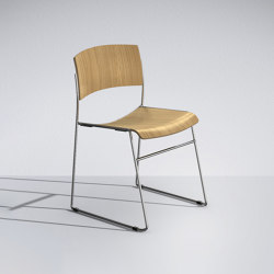 Zinia in wood | Stühle | Lamm