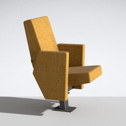 M100 Armchair on beam | Auditorium seating | Lamm