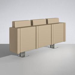 Mura A on beam | Auditorium seating | Lamm