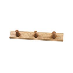 Allé | Q3 | Hook rails | FDB Møbler