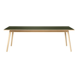 C35C Dining Table by Poul M. Volther | Mesas comedor | FDB Møbler
