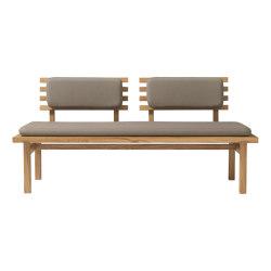Vindeby | H102 | Benches | FDB Møbler