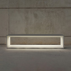 Bench w/light | Benches | Sit