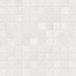 Cornerstone Slate White Mosaico | Mosaïques céramique | EMILGROUP