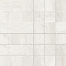 Metallica Mosaico 5x5 Steel White | Ceramic mosaics | EMILGROUP