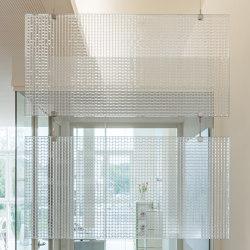 Lightscreen | Baffle set | Divisores de habitaciones fonoabsorbentes | objectiv