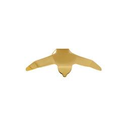 Wall Hook: Envolee | 1 Hook Down Brass | Single hooks | Ligne Roset