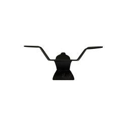Wall Hook: Envolee | 1 Hook Up Black | Single hooks | Ligne Roset