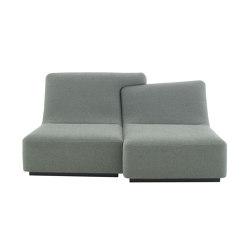 Confluences 2 | 2-Seat Settee Plain Version Confluences - 2 | Sofas | Ligne Roset