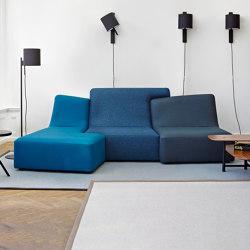 Confluences 2 | 3-Seat Settee/Right Multicolour Version Confluences - 2 | Sofas | Ligne Roset