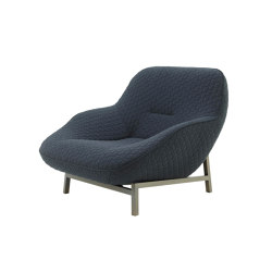 Cosse | Armchair Bronze Lacquered Metal Base | Armchairs | Ligne Roset