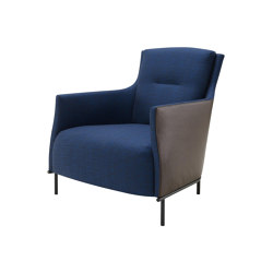Riga | Armchair With Base Low Back Complete Item | Armchairs | Ligne Roset