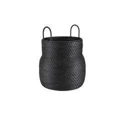 Baskets: Along | Basket High Version Black | Storage boxes | Ligne Roset