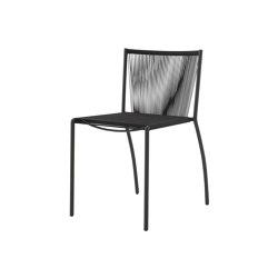 Stresa | Chair Black Indoor / Outdoor | Chairs | Ligne Roset