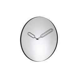 Clock: Mirror Clock   Clock   Clocks   Ligne Roset