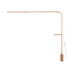 Quille | Desk Lamp Copper | Free-standing lights | Ligne Roset