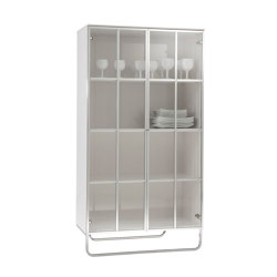 Hyannis Port | Display Cabinet Gloss White Lacquer | Display cabinets | Ligne Roset