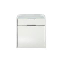 Hyannis Port | Contenitore 2 Cassetti Laccato Bianco Lucido | Credenze | Ligne Roset