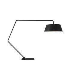 Bul | Floor Standard Lamp - Reading Lamp Black | Free-standing lights | Ligne Roset