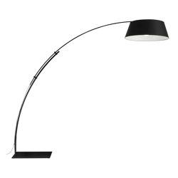 Ouverture | Floor Standard Lamp Black | Free-standing lights | Ligne Roset