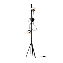 Trepied | Floor Standard Lamp Black | Free-standing lights | Ligne Roset
