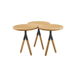 Itisy   Low Table Natural-Finish Sawn Oak   Coffee tables   Ligne Roset