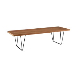 Cm 191   Low Table Solid American Walnut   Coffee tables   Ligne Roset
