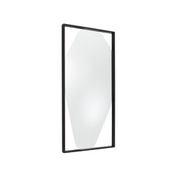 Mirror: Belize | Mirror Large Black Stained Ash | Mirrors | Ligne Roset
