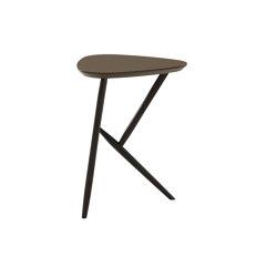 Kiji | Occasional Table Smoked Oak Linoleum Coffee | Side tables | Ligne Roset