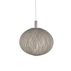 Pelote | Suspended Ceiling Light Grey | Suspended lights | Ligne Roset