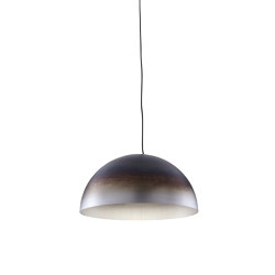 Luna Rossa | Suspended Ceiling Light Oxidised Effect Small | Suspended lights | Ligne Roset